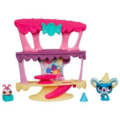 LITTLEST PET SHOP Sweetest PARTY CAKE CLUBHOUSE Playset