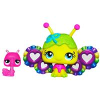 LITTLEST PET SHOP Fairies CANDYSWIRL DREAMS Pack (FRUITY SWEET FAIRY and Snail)