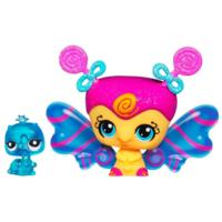 LITTLEST PET SHOP Fairies CANDYSWIRL DREAMS Pack (LOLIPOP FAIRY and Inchworm)