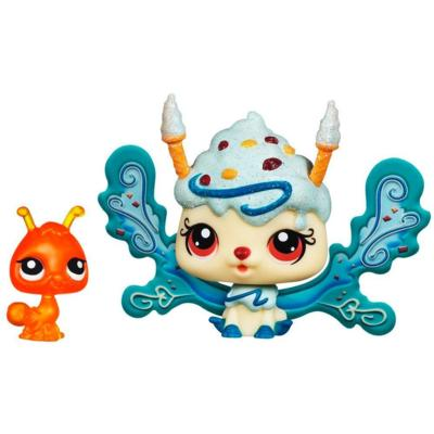 LITTLEST PET SHOP Fairies CANDYSWIRL DREAMS Pack (ICE CREAM SPRINKLE FAIRY and Ant)