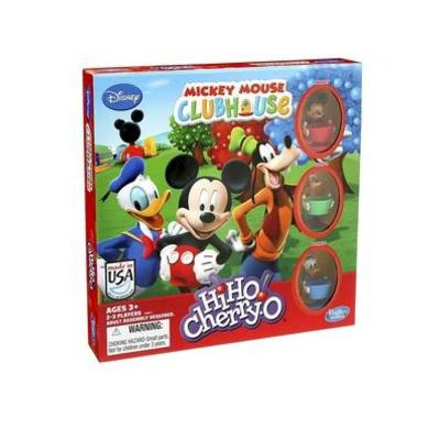 HiHo! Cherry-O Game Disney Mickey Mouse Clubhouse Edition