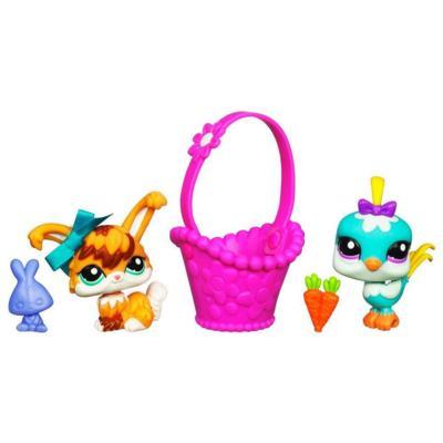 LITTLEST PET SHOP Spring Pets Pack (Bunny and Bird)