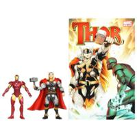 MARVEL Universe MARVEL'S Greatest Battles Comic Packs (THOR and IRON MAN)