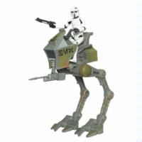STAR WARS THE CLONE WARS: AT-RT with ARF TROOPER