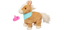 FURREAL FRIENDS SNUGGIMALS Walkin' Ponies SHIMMER SKY Pet