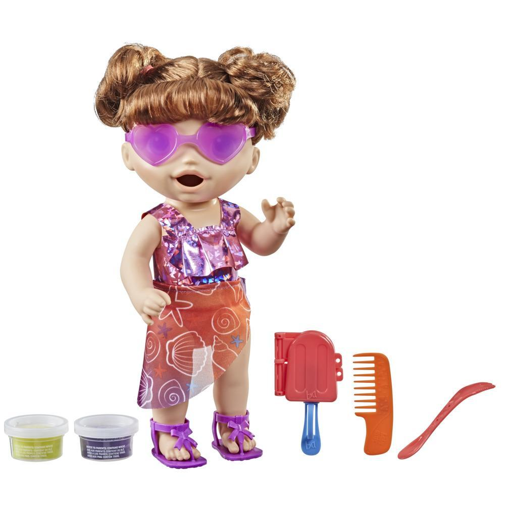 Baby Alive Sunshine Snacks Doll, Eats and