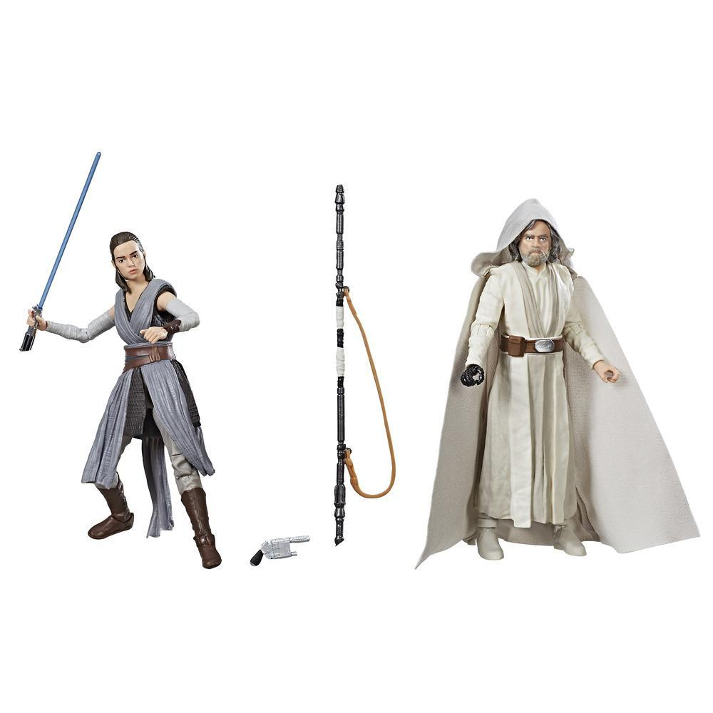 Star Wars The Black Series Luke Skywalker (Jedi Master) & Rey (Jedi Training): Convention Exclusive