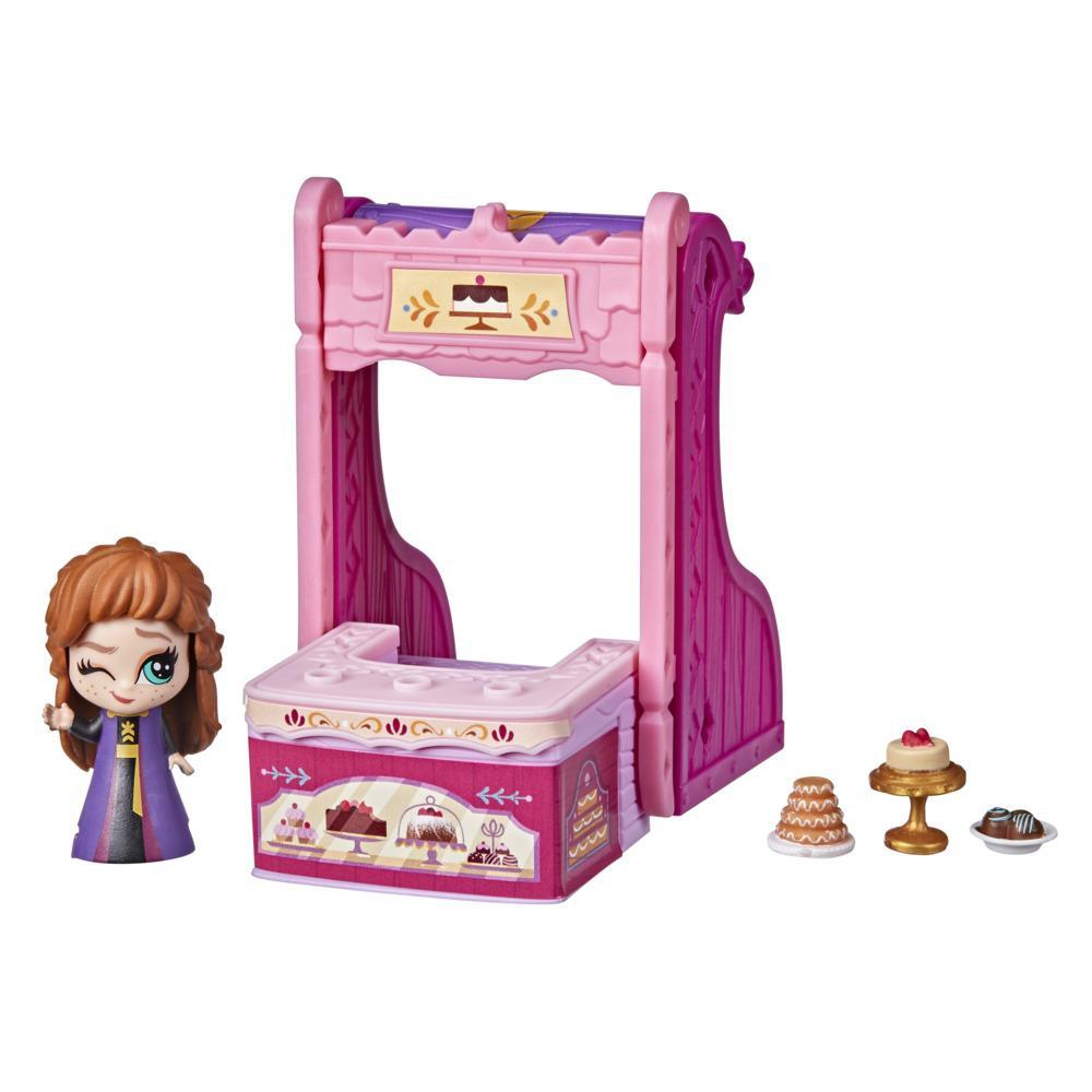 Disney's Frozen 2 Twirlabouts Series 1 Anna Sled to Shop Playset, Includes Anna Doll and Accessories