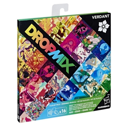 DropMix Playlist Pack (Verdant) Expansion for Music Mixing Board and Card Game