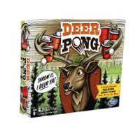 Deer Pong Talking Deer Family Game Ages 8 and Up