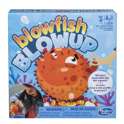 Blowfish Blowup Game