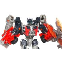 TRANSFORMERS DARK OF THE MOON MECHTECH Voyager Class FIREBURST OPTIMUS PRIME