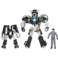 TRANSFORMERS DARK OF THE MOON MECHTECH HUMAN ALIANCE Sergeant Noble and TAILPIPE and PINPOINTER