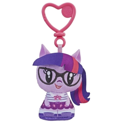 My Little Pony Cutie Mark Crew Twilight Sparkle Equestria Girls Plush Clip