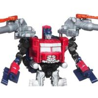 TRANSFORMERS DARK OF THE MOON CYBERVERSE Commander Class Battle Steel OPTIMUS PRIME