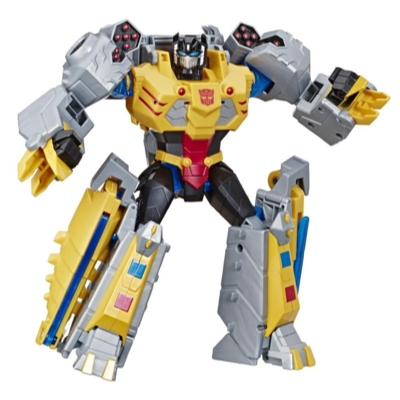 Transformers Toys Cyberverse Action Attackers Ultimate Class Grimlock Action Figure - Repeatable Seismic Stomp Action Attack - For Kids Ages 6 and Up, 9.75 inch Product