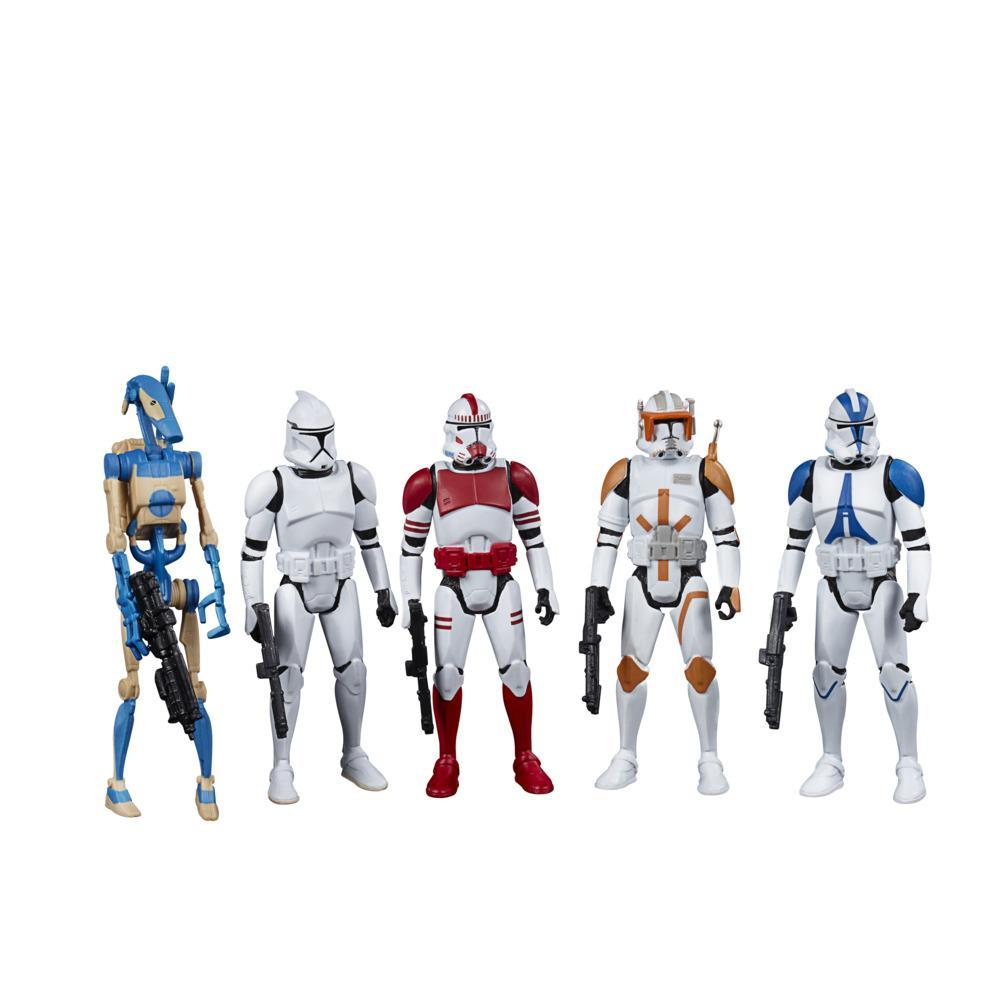 Star Wars Celebrate the Saga Toys Galactic Republic Action Figure Set, 3.75-Inch-Scale Figures 5-Pack for Ages 4 and Up