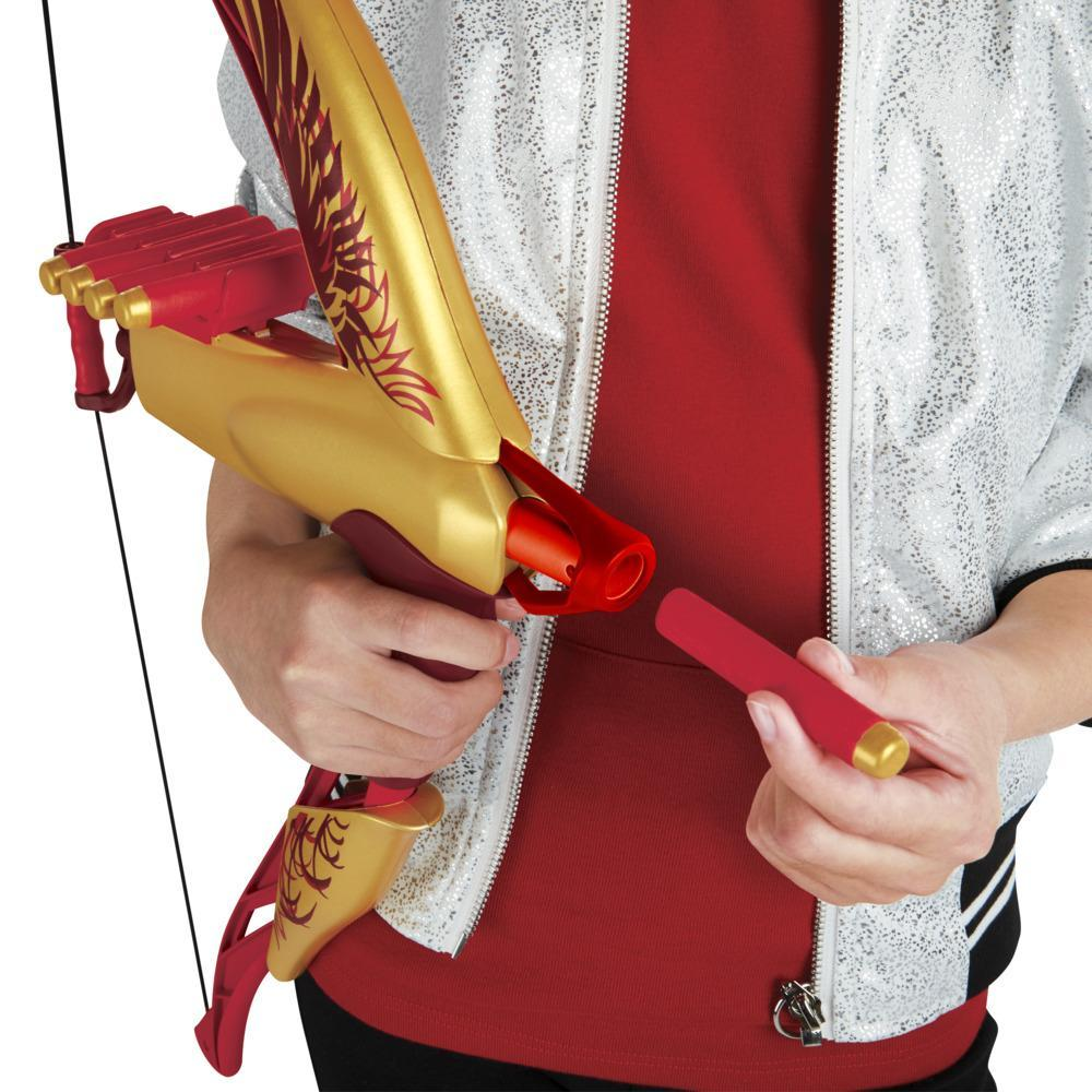 Disney Mulan Warrior Bow With 8 Foam Darts, Inspired by Disney's Mulan Live-Action Movie, Toy for Kids 8 Years and up