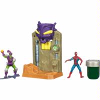 Spider-Man Ooze Attack Playsets – Spider-Man vs. Green Goblin
