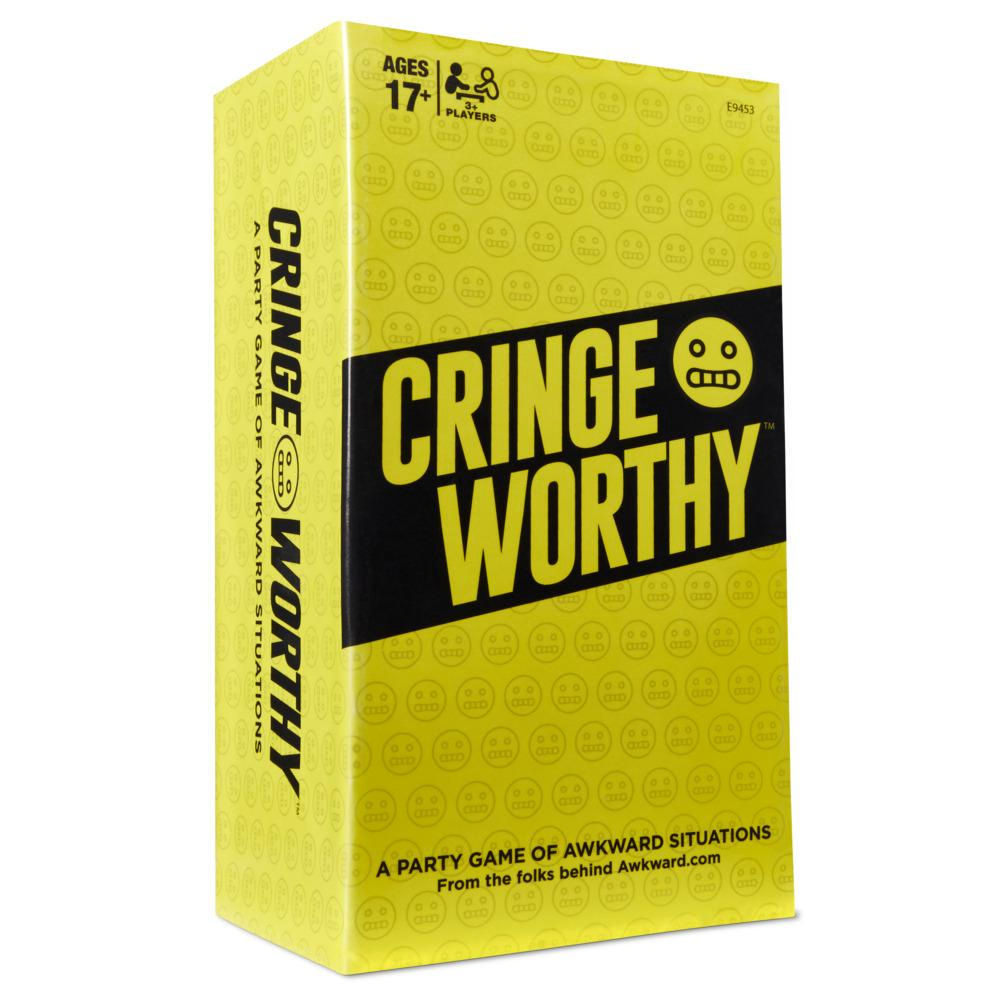 Cringeworthy Adult Party Card Game for Ages 17 and Up