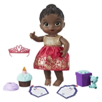 Baby Alive Cupcake Birthday Baby - Black Sculpted Hair