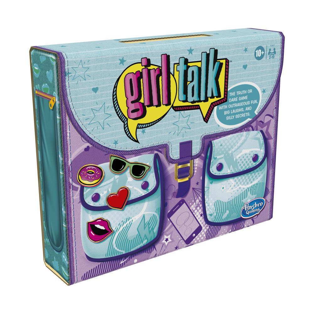 Girl Talk Truth or Dare Game, Board Game With Outrageous Fun for Teens and Tweens ages 10 and Up