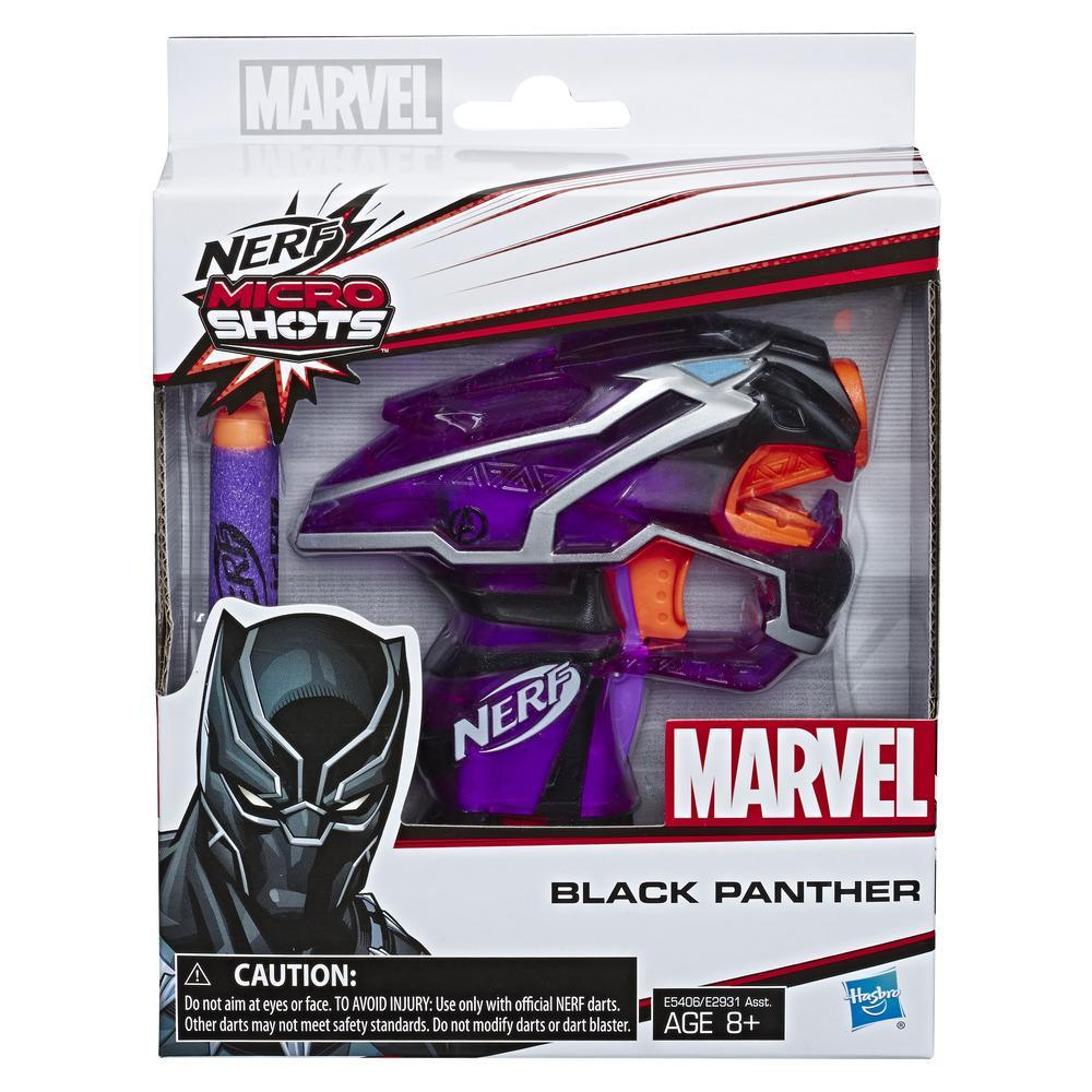 Black Panther Nerf MicroShots Marvel Toy Blaster