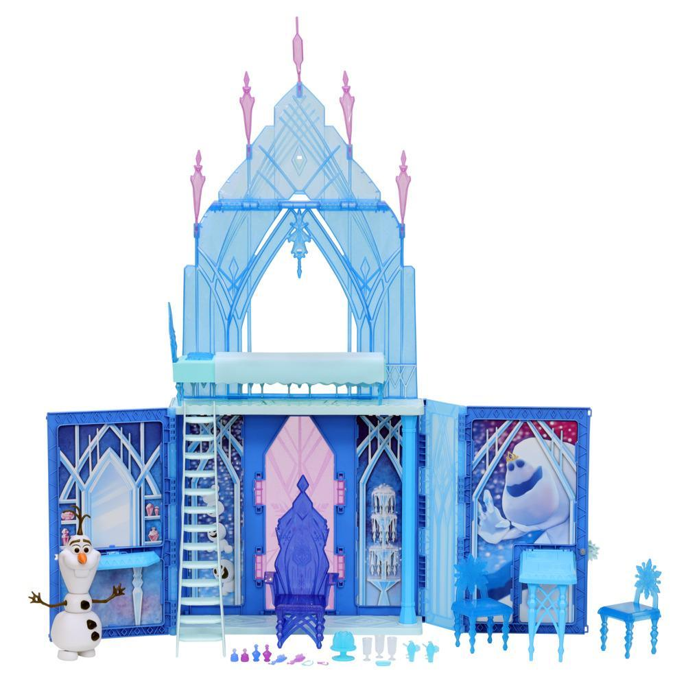 Disney's Frozen 2 Elsa's Fold and Go Ice Palace, Castle Playset, Toy for Kids Ages 3 and Up
