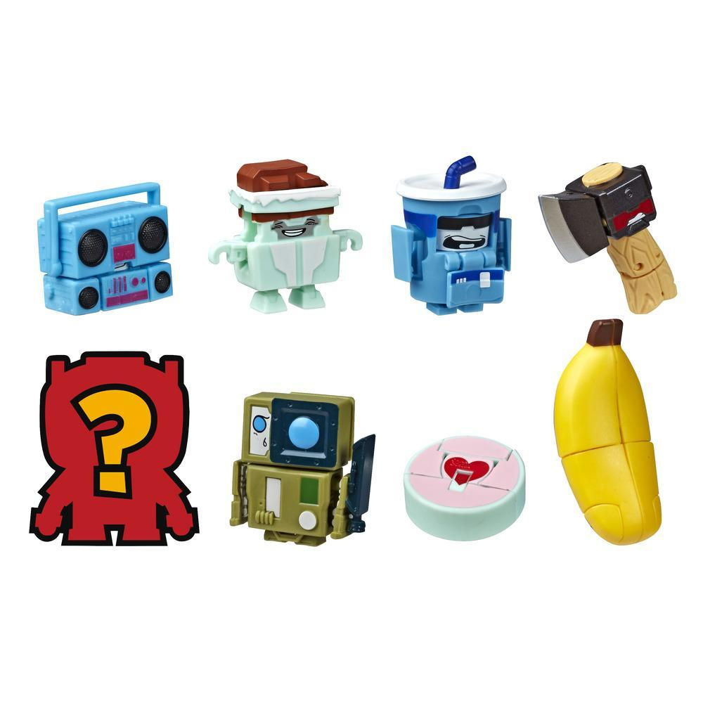 Transformers Toys BotBots Series 4 Wilderness Troop 8-Pack – Mystery 2-In-1 Collectible Figures - Kids Ages 5 and Up