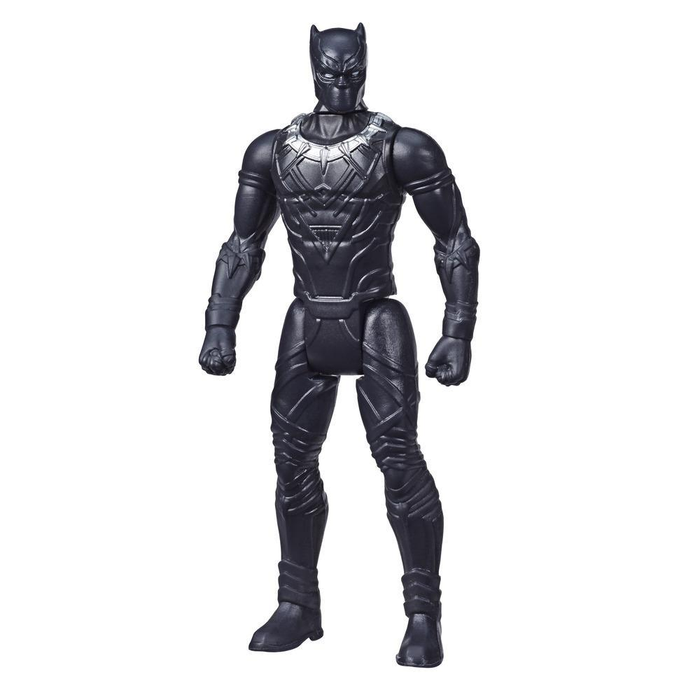 Marvel Avengers Black Panther 3.75 Inch Figure, Classic Comics-Inspired Design, For Kids Ages 4 And Up