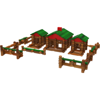 Classic Farmhouse Building Set