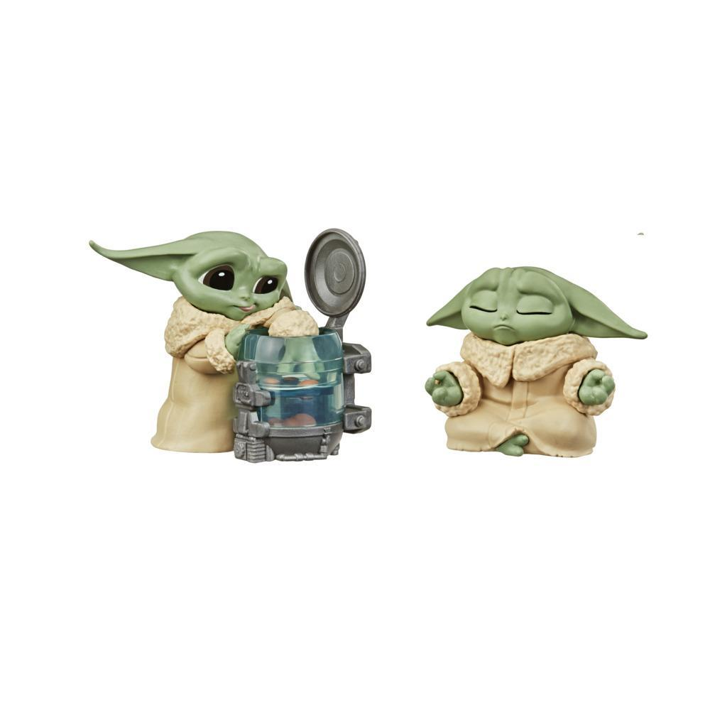 Star Wars The Bounty Collection Series 3 The Child Figures Curious Child, Meditation Posed Toy 2-Pack for Kids Ages 4 and Up