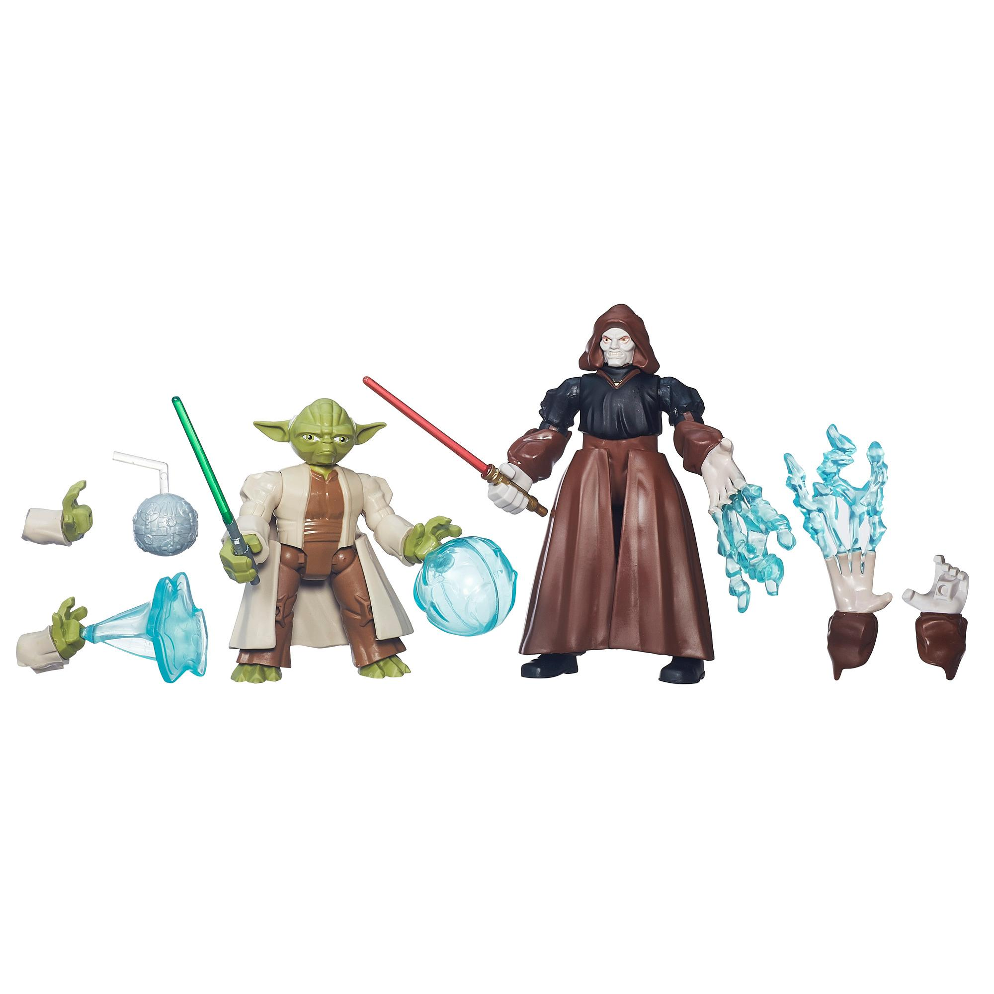 Star Wars Hero Mashers Yoda vs. Emperor Palpatine