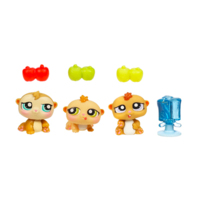 LITTLEST PET SHOP PETRIPLETS (Hamsters)