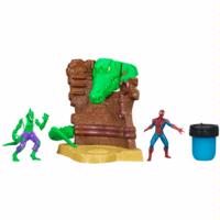 Spider-Man Ooze Attack Playsets – Spider-Man vs. Lizard