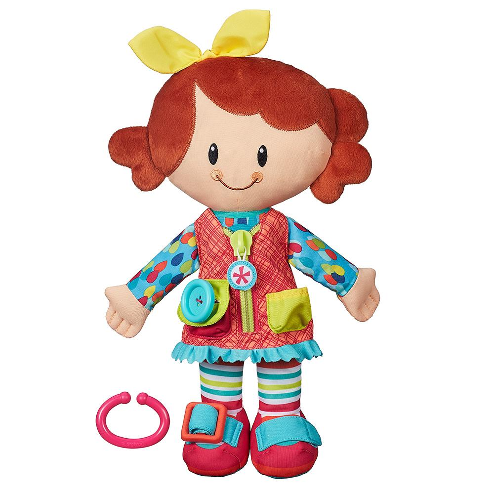Playskool Dressy Kids Girl Activity Doll Toy for Toddlers 2 Years and Up