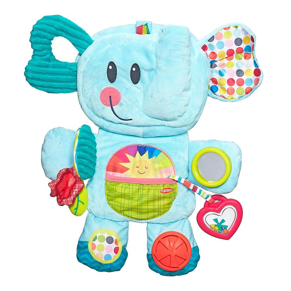 Playskool Fold 'n Go Busy Elephant Blue