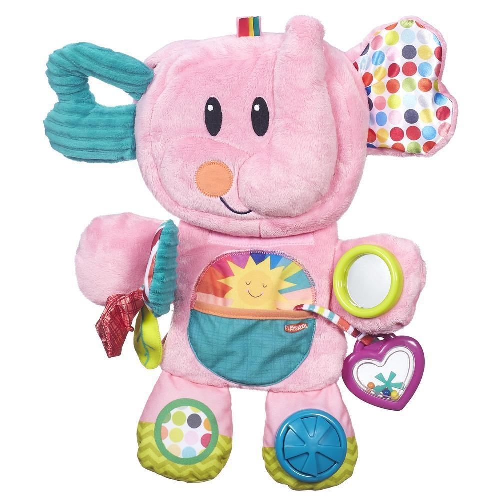 Playskool Fold 'n Go Busy Elephant Pink