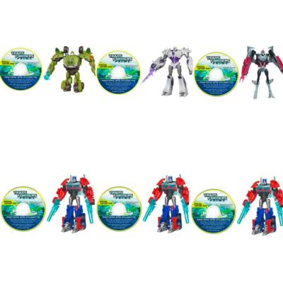 TRANSFORMERS PRIME CYBERVERSE COMMAND YOUR WORLD Commander Class Series 2 – 6 Pack