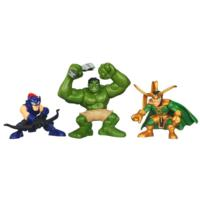 MARVEL THE AVENGERS MARVEL Super Hero Squad Comic Series ATTACK OF LOKI Theme Pack