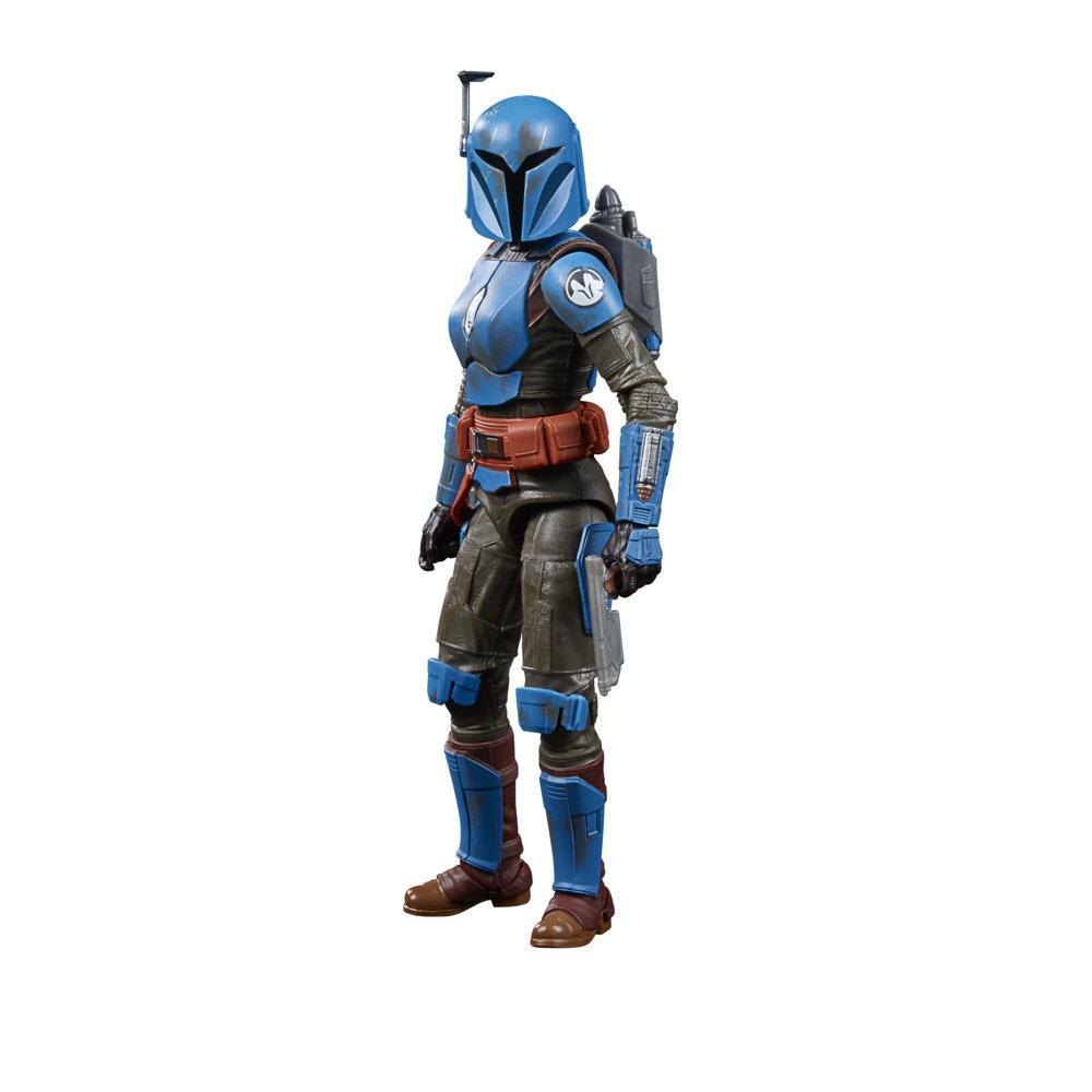 Star Wars The Black Series Koska Reeves Toy 6-Inch-Scale The Mandalorian Collectible Figure, Toys for Kids Ages 4 and Up