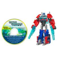 TRANSFORMERS PRIME CYBERVERSE COMMAND YOUR WORLD Commander Class Series 2 OPTIMUS PRIME Figure