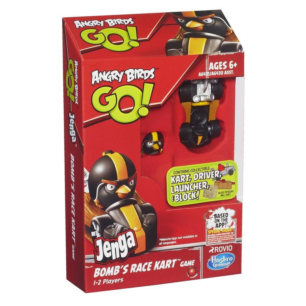 Bomb Bird Games Angry Birds go Jenga Bomb's