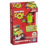 Angry Birds Go! Jenga Foreman Pig's Plane Game