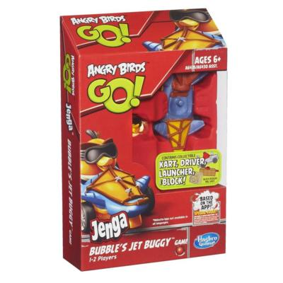 Angry Birds Go! Jenga Bubble's Jet Buggy Game