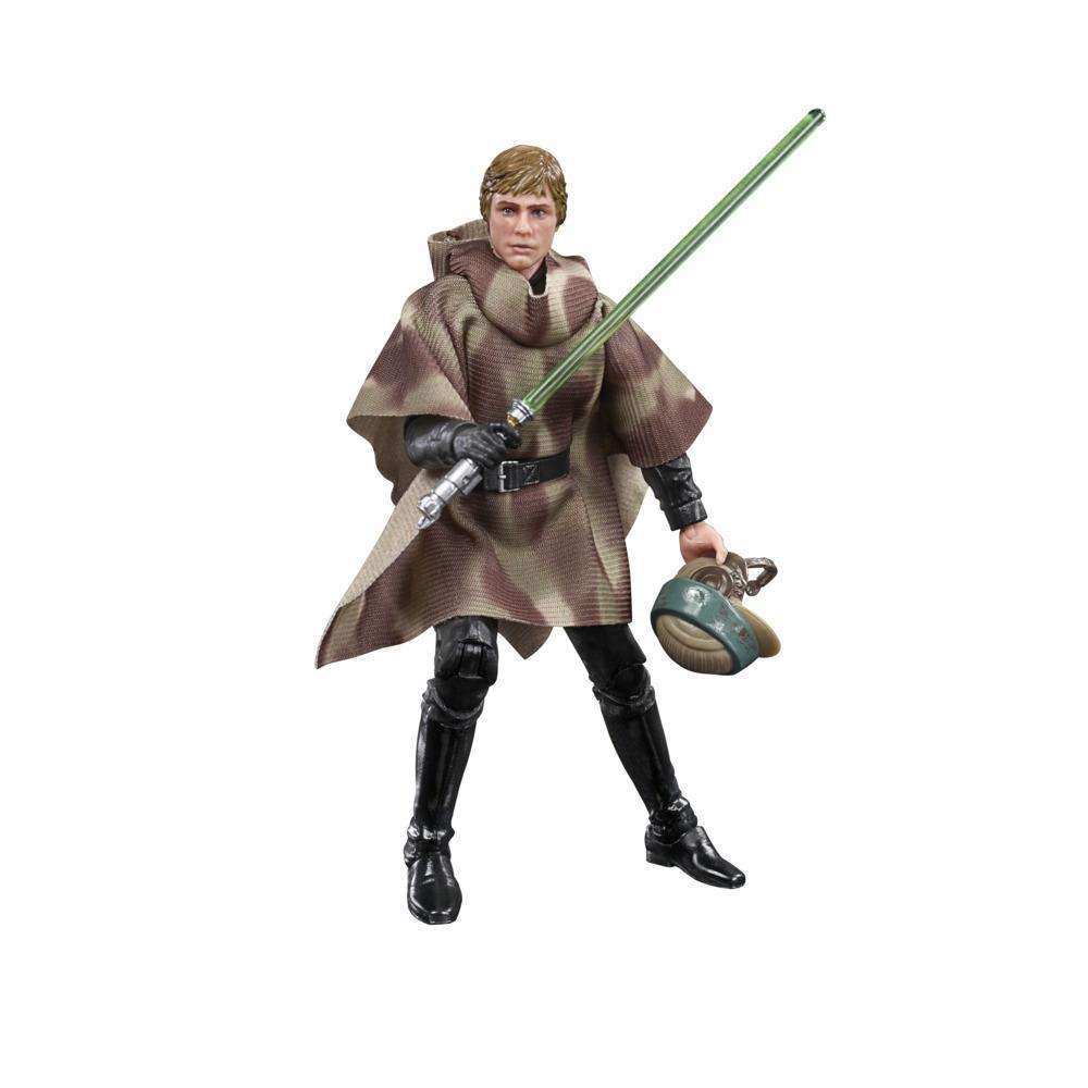 Star Wars The Black Series Luke Skywalker (Endor) Toy 6-Inch Scale Star Wars: Return of the Jedi Figure, Ages 4 and Up