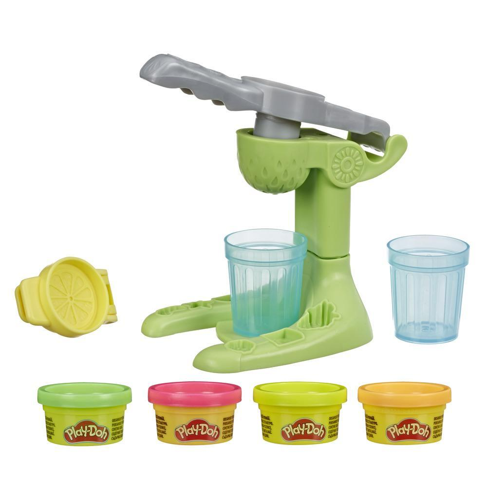 Play-Doh Kitchen Creations Juice Squeezin' Toy Juicer for Kids 3 Years and Up with 4 Non-Toxic Colors