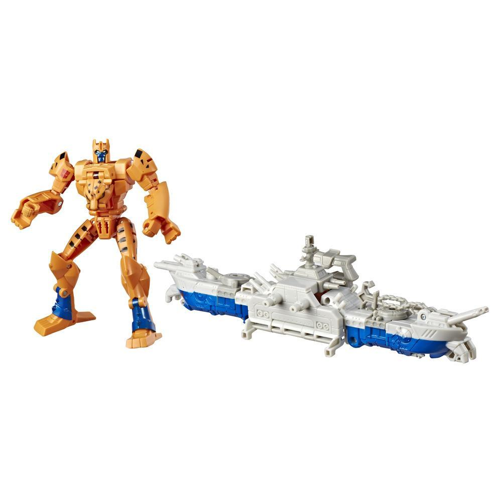 Transformers Toys Cyberverse Spark Armor Cheetor Action Figure