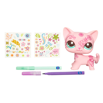 LITTLEST PET SHOP DECO PETS (Kitty)