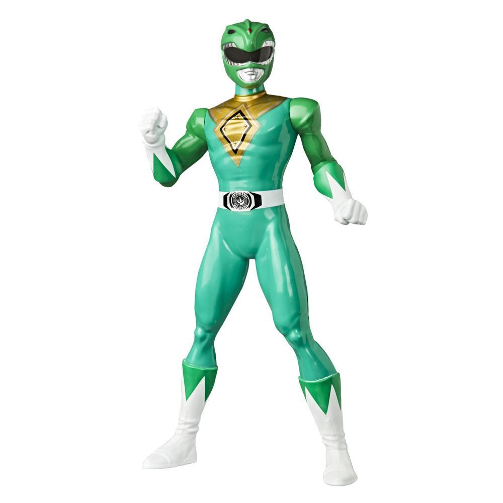 Power Rangers Mighty Morphin Green Ranger Figure 9.5-inch Scale Action Figure Toy for Kids Ages 4 and Up